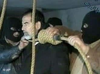 إعدام صدام