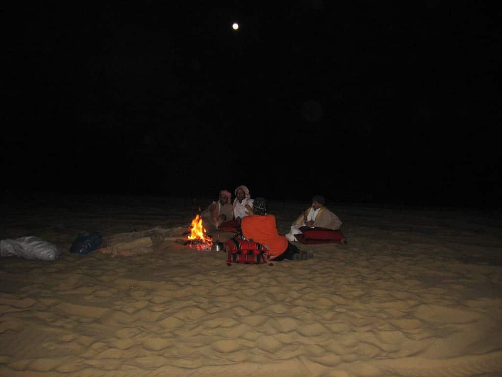 ليالي الصحراء