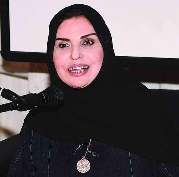 الشاعرة الكويتية سعدية مفرح